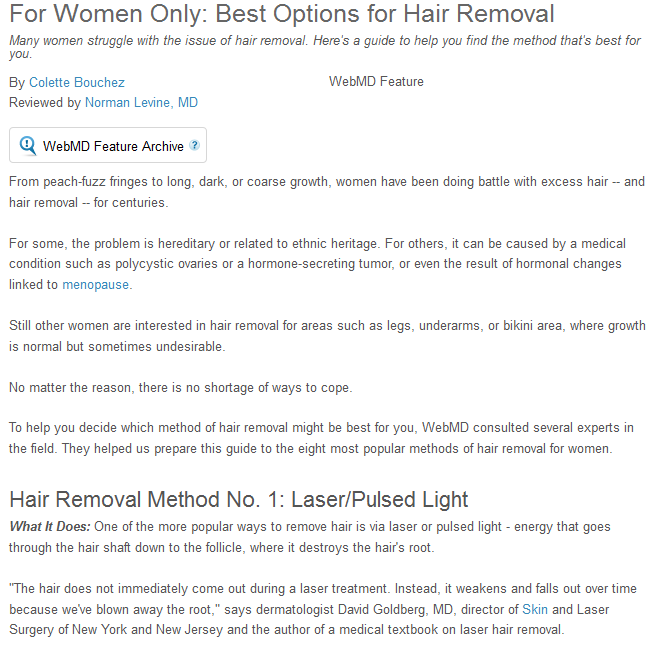 Hair Removal in Albuquerque: Ways in Which Women Get Rid of Body Hair